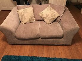 Mink chenille fabric sofa 3 and 2 seater