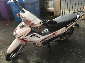 Nipponia brio 125cc with helmet and disk lock