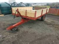 Tractor tipping trailer new wooden floor and sides
