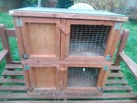 FREE GUINEA PIG/ SMALL RABBITCAGE TWO TIER TYPE collection knowle area