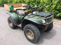 Kawasaki KVF 650 Quad Bike (Off Road 4WD)