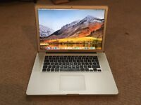 "Apple MacBook Pro 15.4"" i7 2.2-3.1 Ghz, 8GB, 128 SSD"