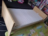 Baby/toddler bed - delivery free but limited