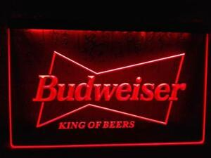 Budweiser King of Beers LED Neon Light Sign (New) Calgary Alberta Preview