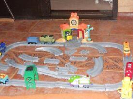 Chuggington Train Set including eight engines