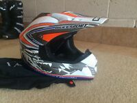 Junior motocross helmet