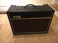Vox Ac15 C1 with upgraded blue speaker and tubes