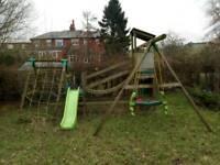 Kids large climbing frame