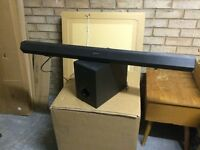 Sony SoundBar and Subwoofer - 2.1 Channel HT-CT60 Virtual Surround. £20