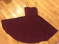 Brand new BCBG Burgundy Dress - Size 10