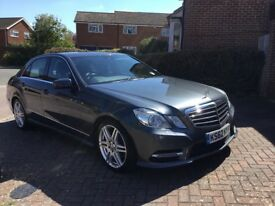 Mercedes Benz E220 SPORT CDI BLUE EF SALOON AUTOMATIC