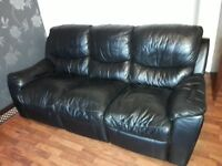 3 SEATER SOFA LEATHER RECLINER