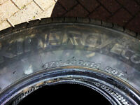 THREE HANCOOK KINERGY ECO TYRES Almost New