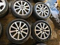 """17"""" GENUINE FORD FOCUS MONDEO GALAXY C MAX S MAX ALLOY WHEELS SET OF 4"""