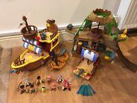 Jake & The Neverland Pirates - Toy Bundle