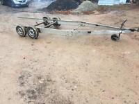 Lightweight trailer chassis