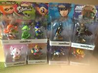Various amiibo (new in box) for sale