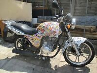 kymco pulsar lx 125 running project