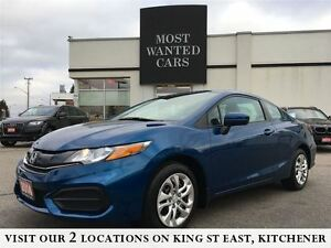 2014 Honda Civic Coupe LX | *COUPE* | NO ACCIDENTS | BLUETOOTH Kitchener / Waterloo Kitchener Area image 1