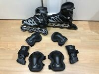 Inline skates FILA Master wave + Protections + bag to transport it