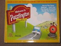 Puzzlington train game
