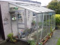 LEAN TO GREENHOUSE FOR SALE