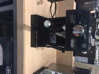 Delonghi ECP 31.21 Coffee Machine (unwanted gift never used)- black, can use pump or pods