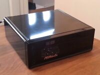 AS Rock Home Theatre PC (HTPC) loaded with openelec open source software featuring live and tv mix