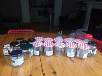 Giving away this lot of jars