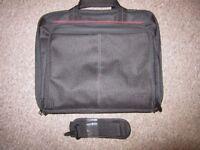 NEW Targus black laptop bag with shoulder strap