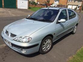 2001 51 plate Renault megan