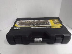 Stanley 143 pcs socket set STMT71660 Black Chrome. We sell used power tools. 115036