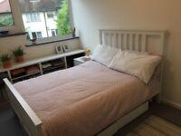 Ikea Hemnes Double bed, white