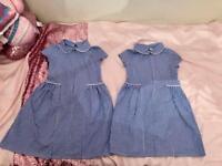 2 BHS School summer dresses age 7 years