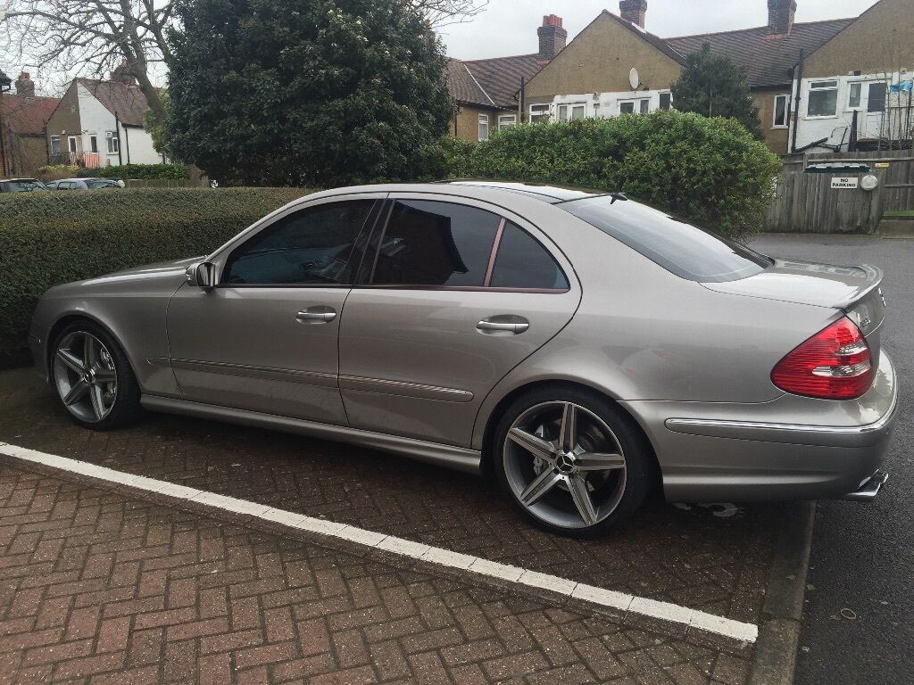 mercedes e55 amg 2004 w211 high spec in tooting london gumtree. Black Bedroom Furniture Sets. Home Design Ideas