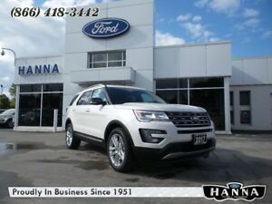 2017 Ford Explorer *NEW* XLT *LEATHER* 4WD *202A* 3.5L V6 TIVCT