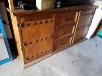 Heavy mexican made sideboard unit