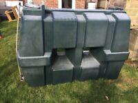 Used oil storage tank