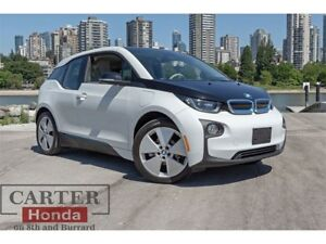 2015 BMW i3 w/R. Extender + NAVIGATION + QUICK CHARGE!