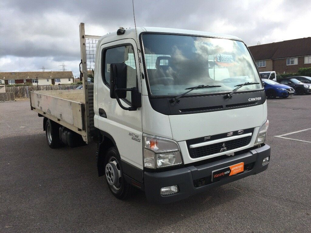 2010 Mitsubishi Fuso Canter Lwb 3 5 Ton 4 Metre Dropside , New Mot, 3 Month  Warranty , NO VAT | in Portslade, East Sussex | Gumtree