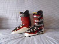 Salomon impact 8 ski boots Energyzer 90 size 28.5 uk size 9.5 327mm