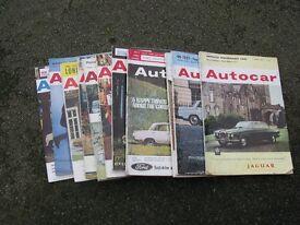 Autocar Magazines x 11