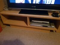 Cube TV stand and matching coffee table