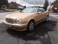 Mercedes CLK 430 2002 Convertible 12 Months Mot Fantastic 1 Owner Car FSH ***Ready for Summer***