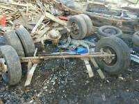 Axles ford transit ldv trailers