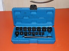 Universal Clutch Aligning Tool Set 17pc NEW £17