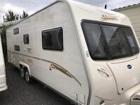 2007 bailey senator Caroliner 6 berth FIXED BUNK BEDS Monday sale