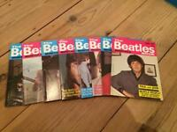 The Beatles monthly magazines