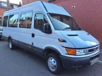 IVECO DAILY 2.8 TD MINIBUS 16 SEATER WITH DISABLED ACCESS LIFT...(Ideal Motorhome Conversion)