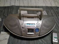 (Giant sized) Panasonic RX-ES25 power blaster portable stereo cd system